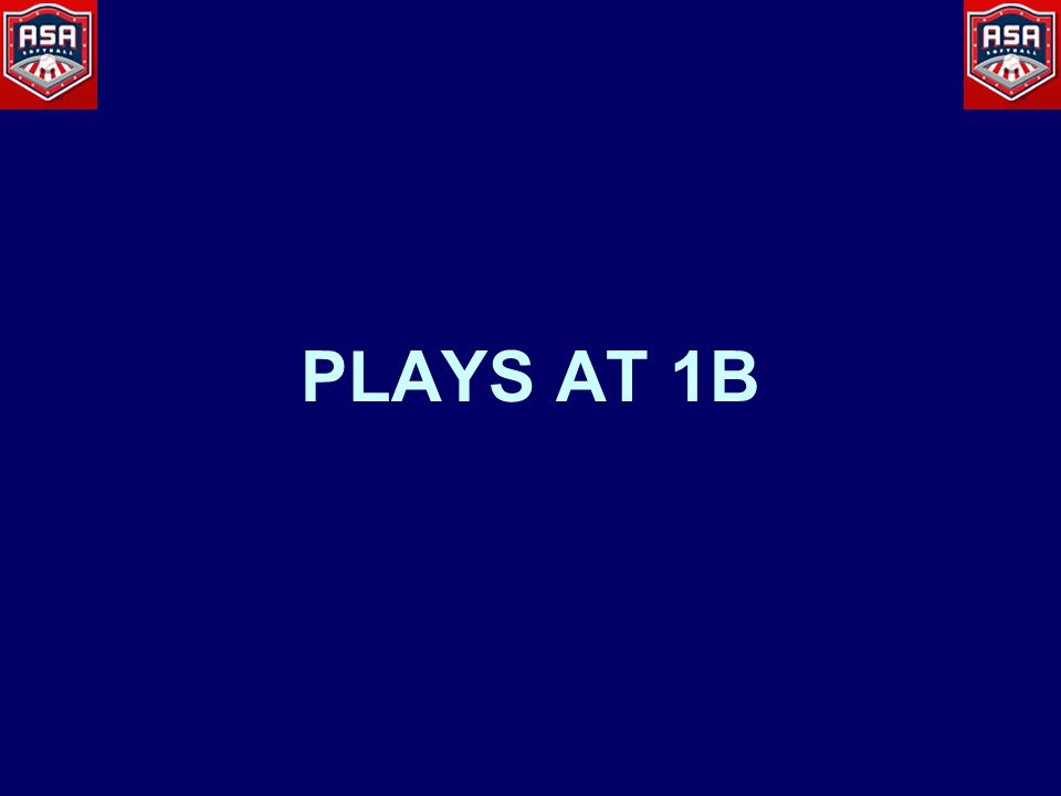 PLAYS AT 1B