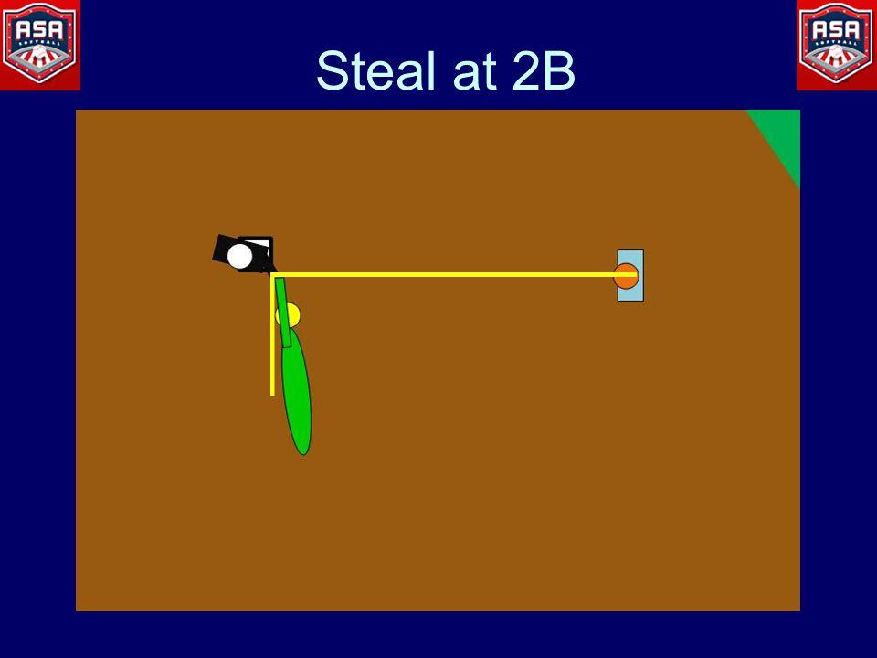 Steal at 2B