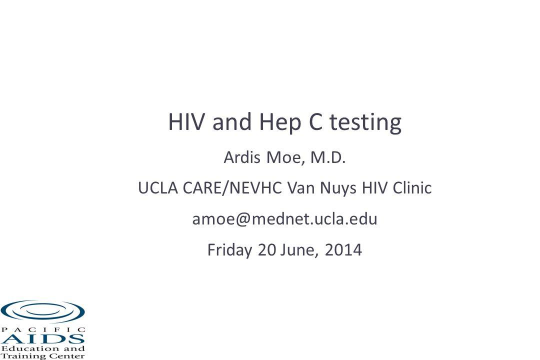 Hep C testing