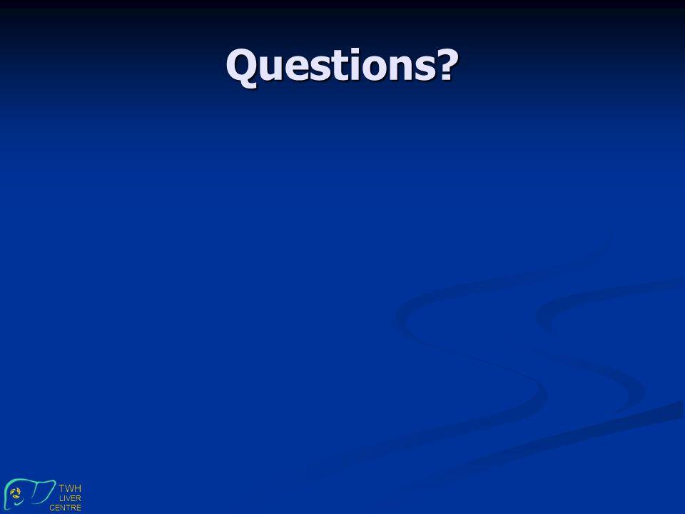 TWH LIVER CENTRE Questions