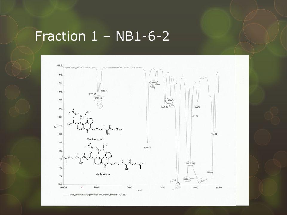 Fraction 1 – NB1-6-2