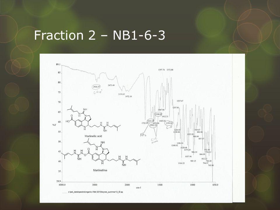 Fraction 2 – NB1-6-3