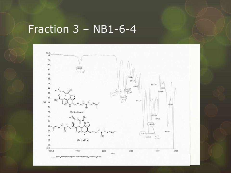 Fraction 3 – NB1-6-4
