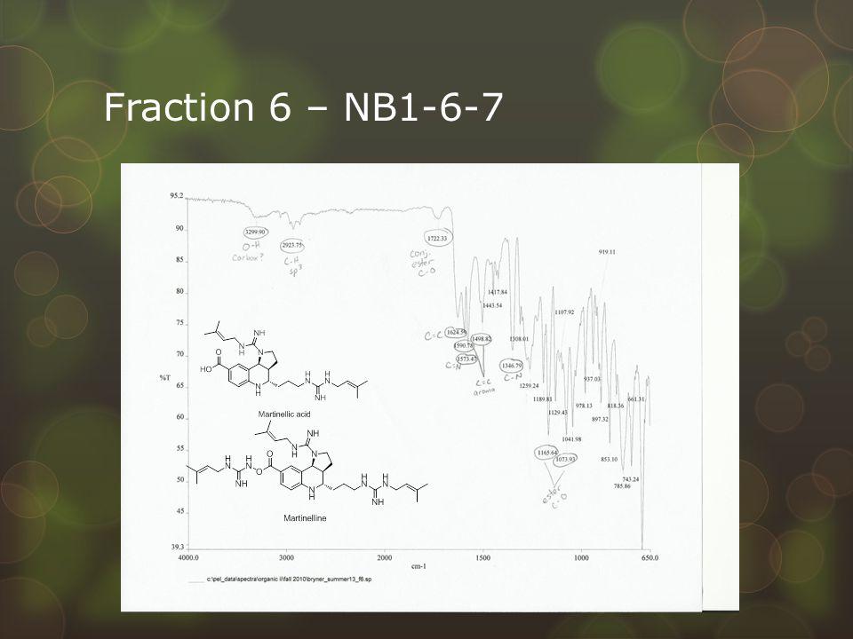 Fraction 6 – NB1-6-7