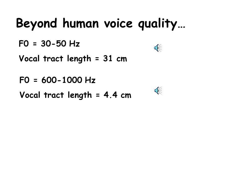 2. Tendencies to maintain a particular constrictive (or expansive) effect on the vocal tract shape.