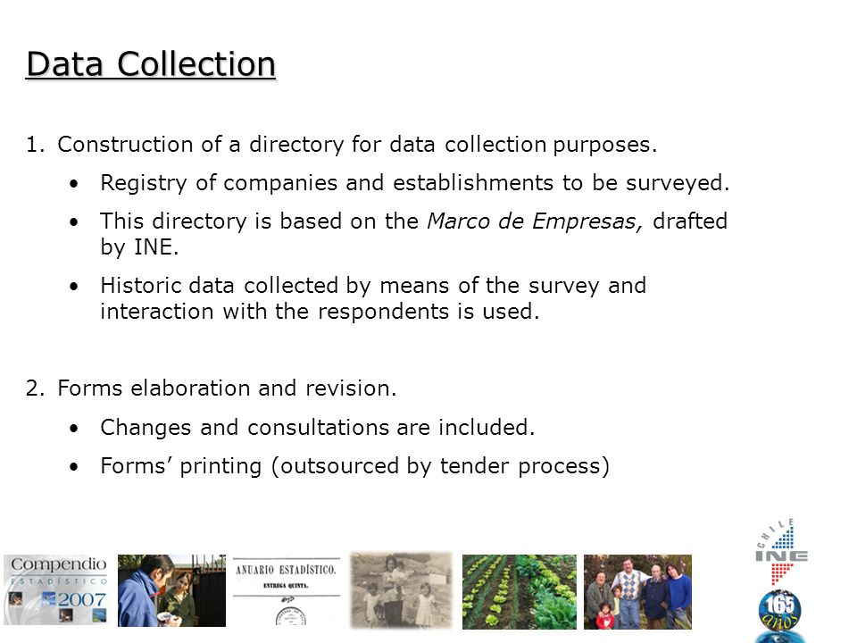 Data Collection 1.Construction of a directory for data collection purposes.