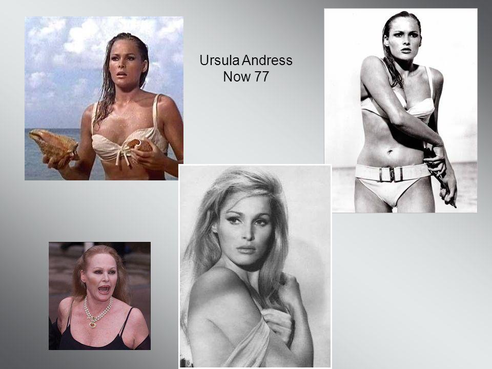 Ursula Andress Now 77