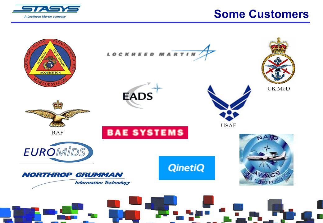 Some Customers RAF USAF UK MoD