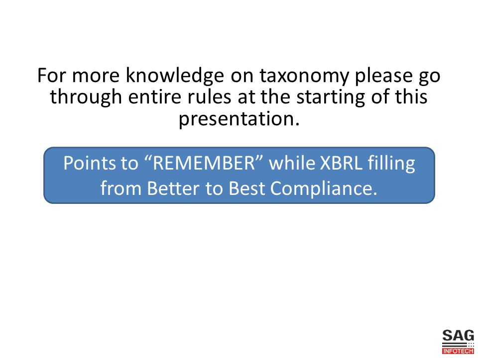For more knowledge on taxonomy please go through entire rules at the starting of this presentation.