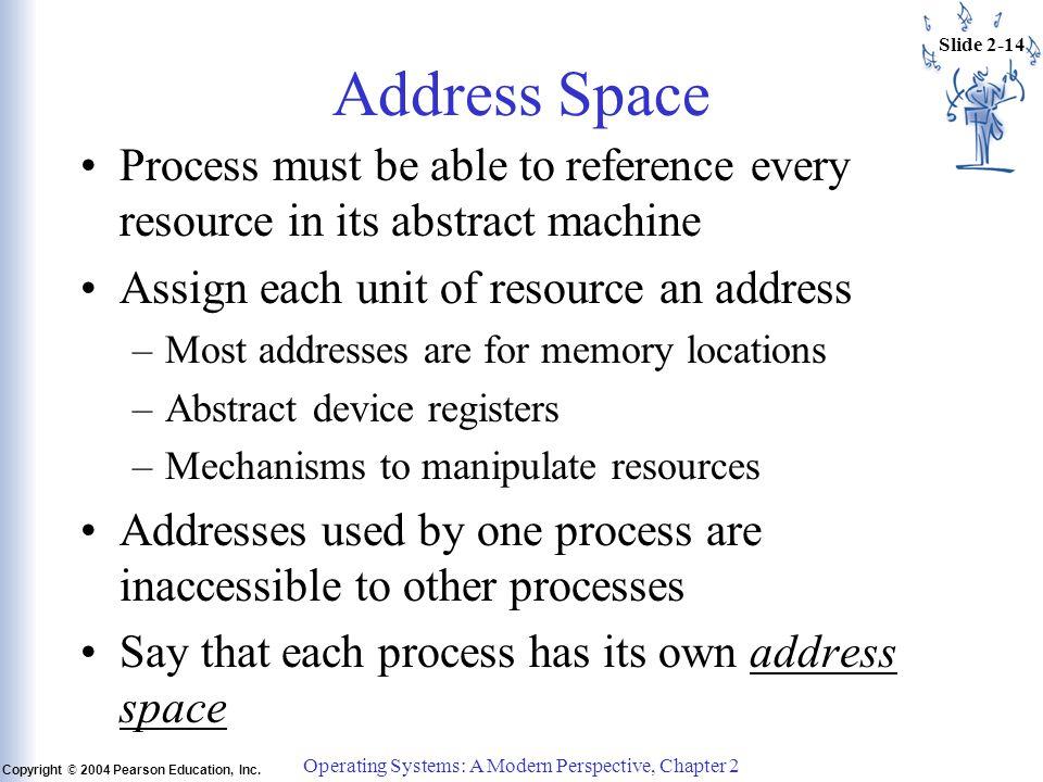 Slide 2-14 Copyright © 2004 Pearson Education, Inc.