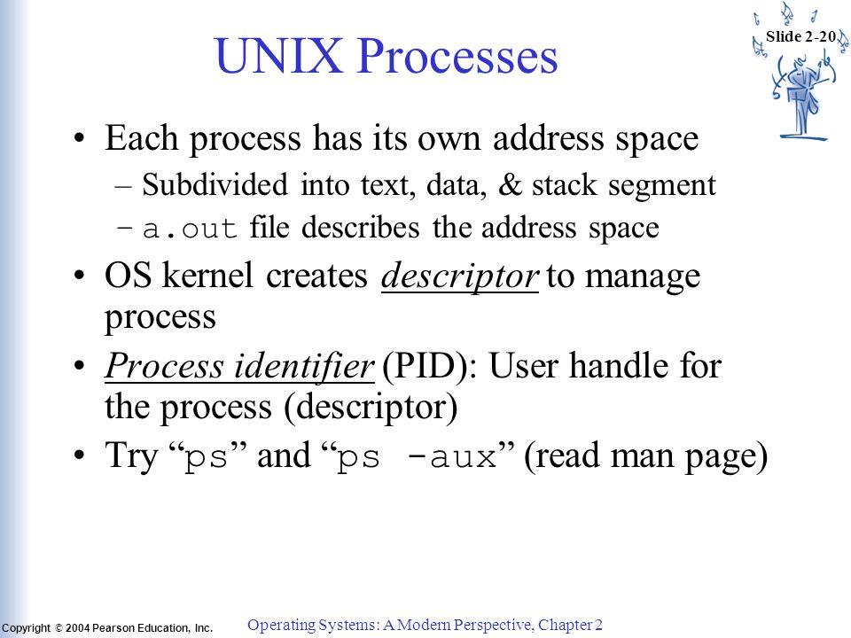 Slide 2-20 Copyright © 2004 Pearson Education, Inc.