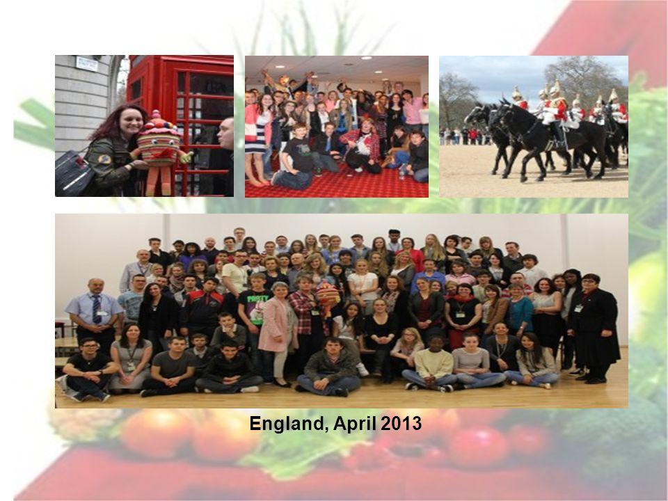 England, April 2013