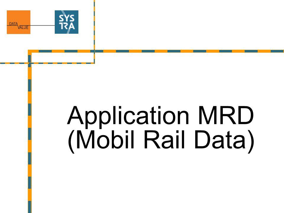 Application MRD (Mobil Rail Data)