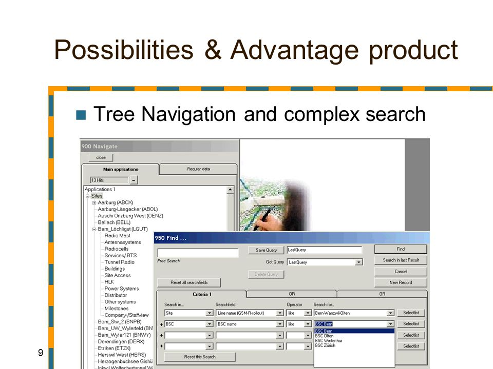 20 Possibilities & Advantage product Wide parameterized User managed codes