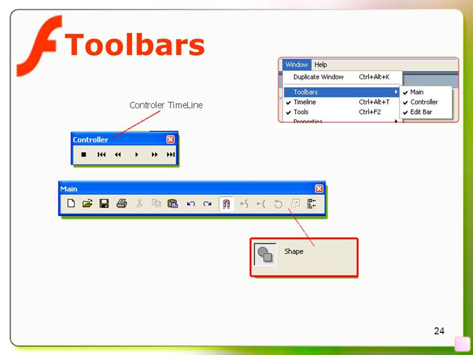 24 Toolbars