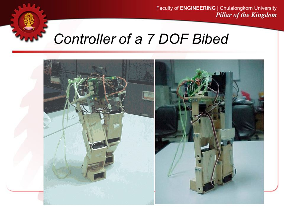 Controller of a 7 DOF Bibed