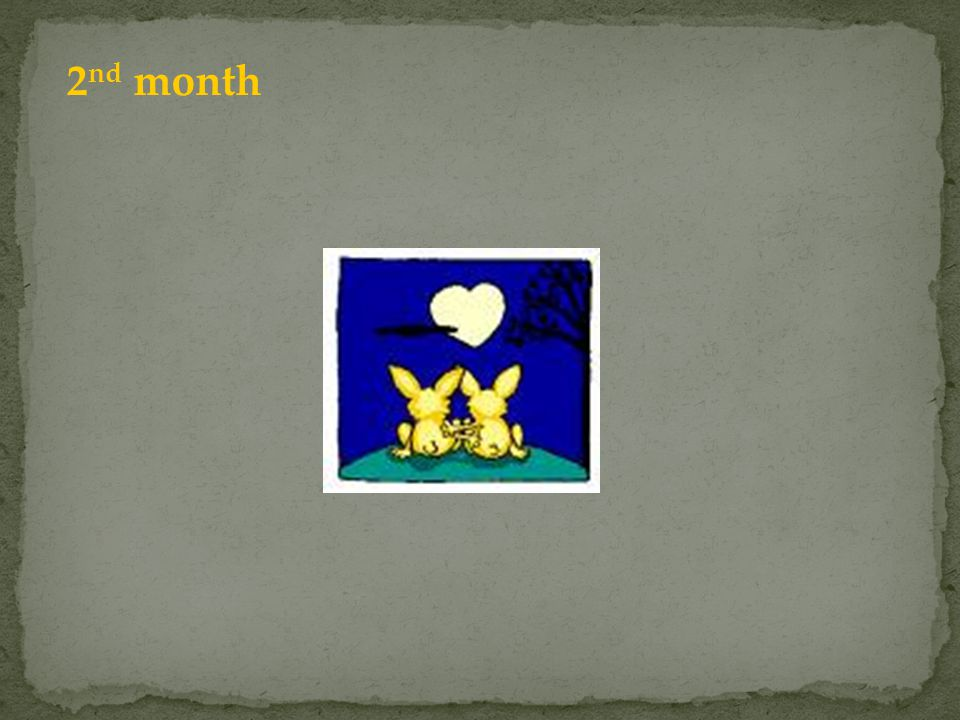 2 nd month