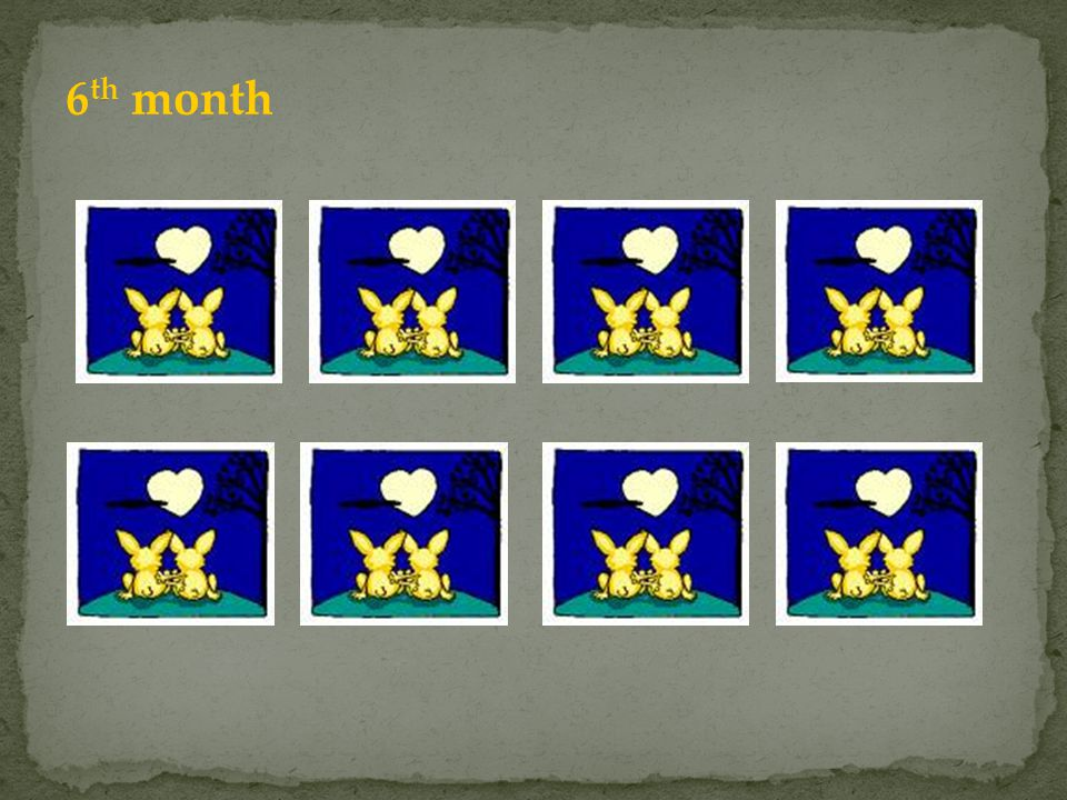 6 th month