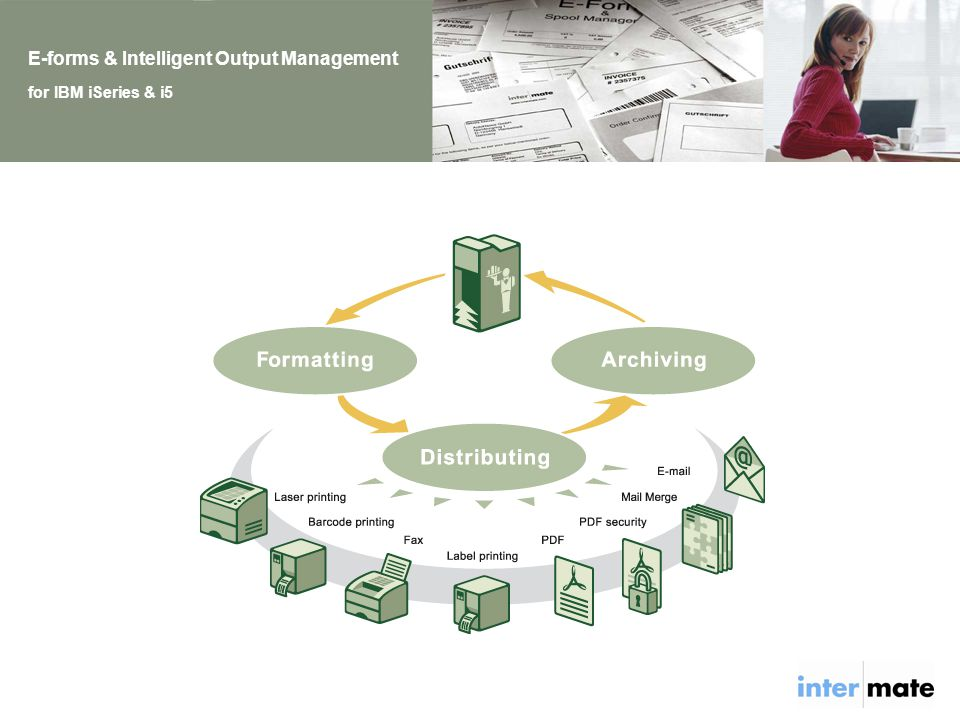 E-forms & Intelligent Output Management for IBM iSeries & i5