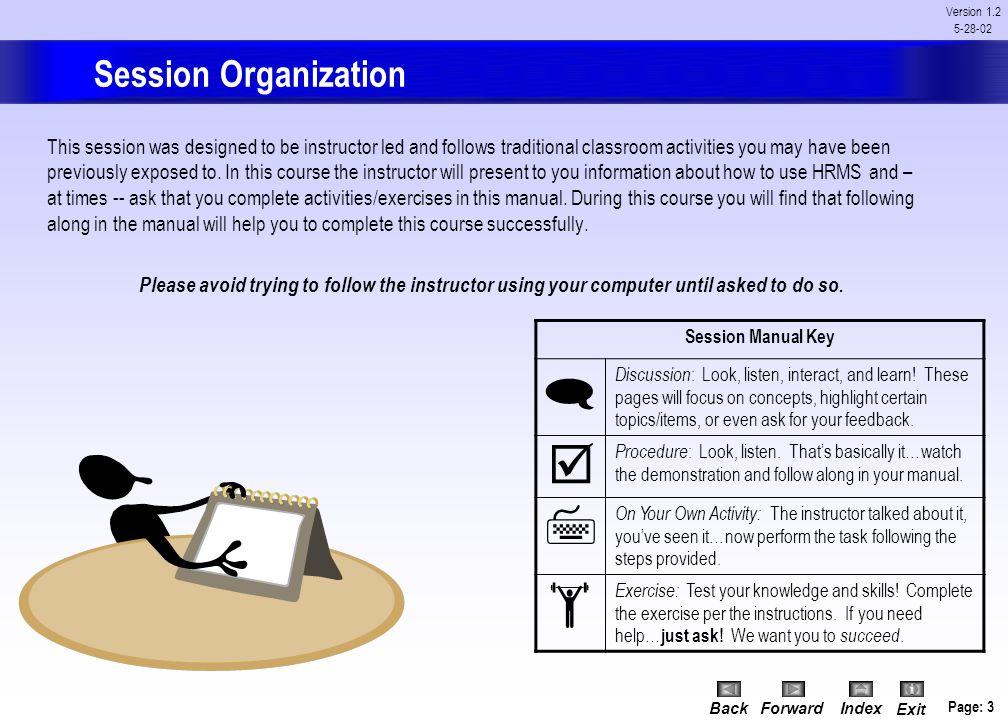 HRMS Navigation
