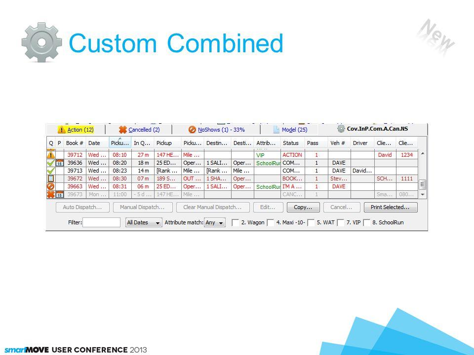 Custom Combined