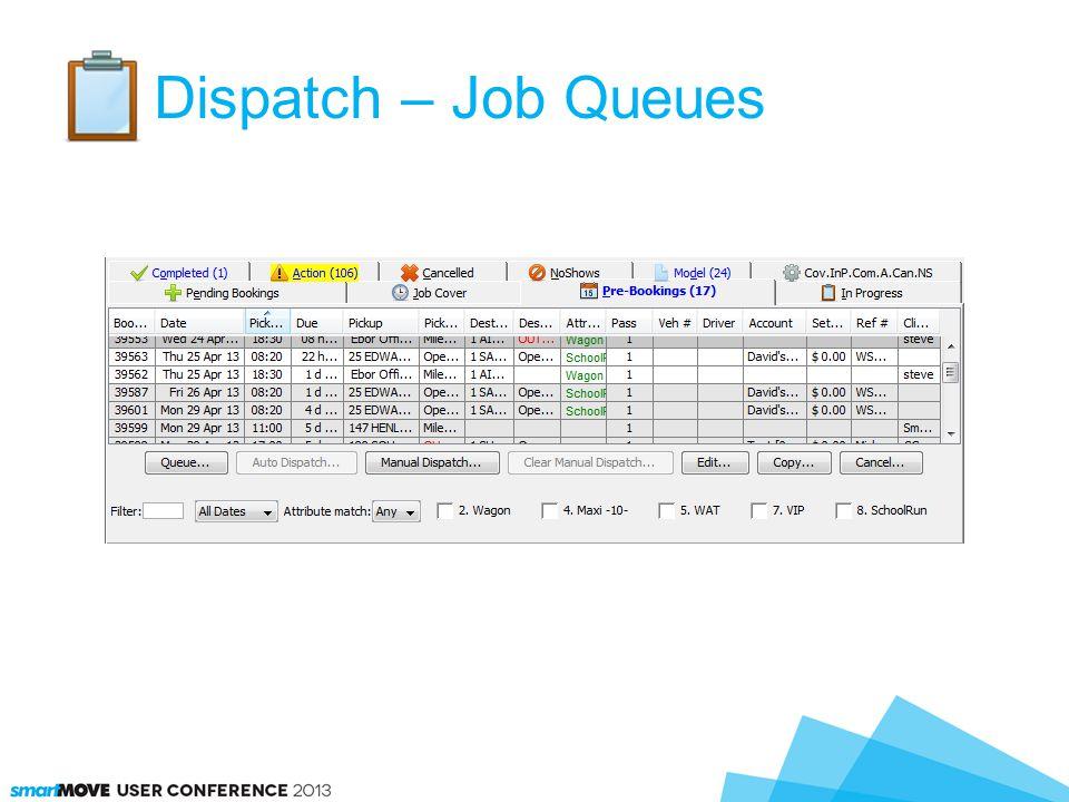 Dispatch – Job Queues