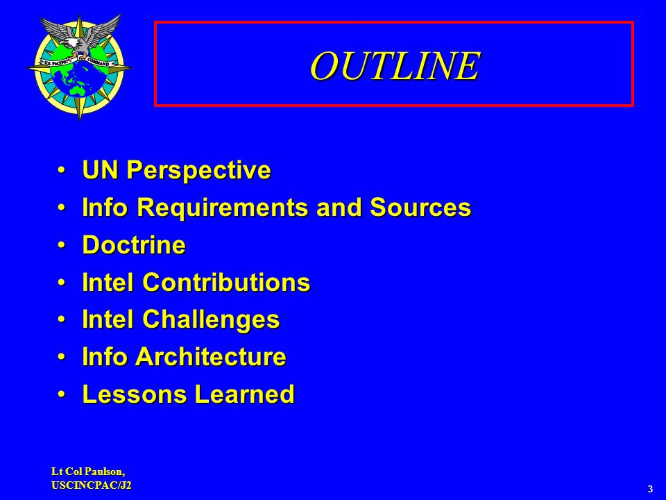 INTELLIGENCE (INFORMATION) CYCLE Dissemination & Integration Collection Analysis & Production Processing & Exploitation Planning & Direction Mission