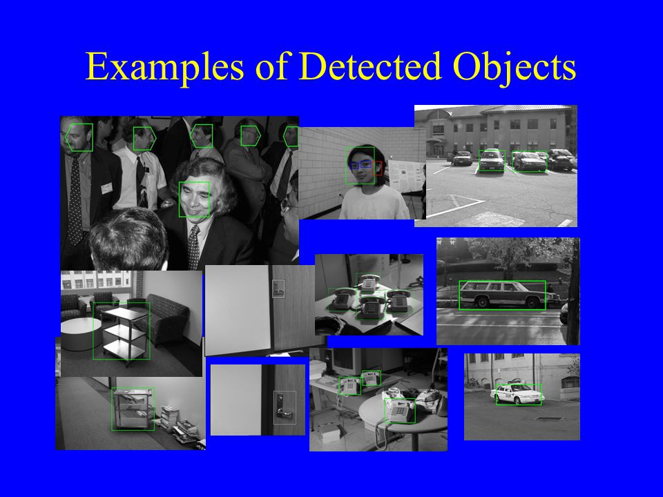 Examples of Detected Objects