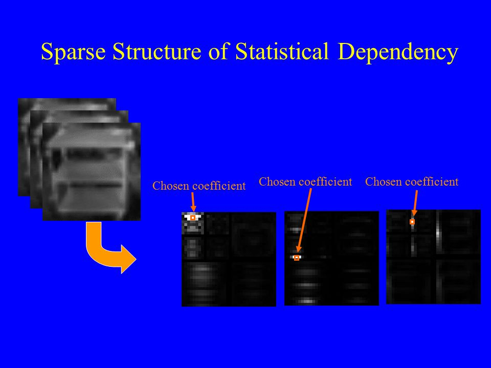Sparse Structure of Statistical Dependency Chosen coefficient