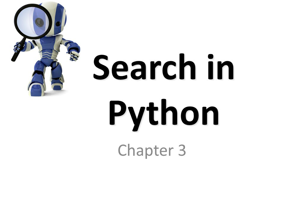 Today's topics Norvig's Python code What it does How to use it A worked example: water jug program What about Java?