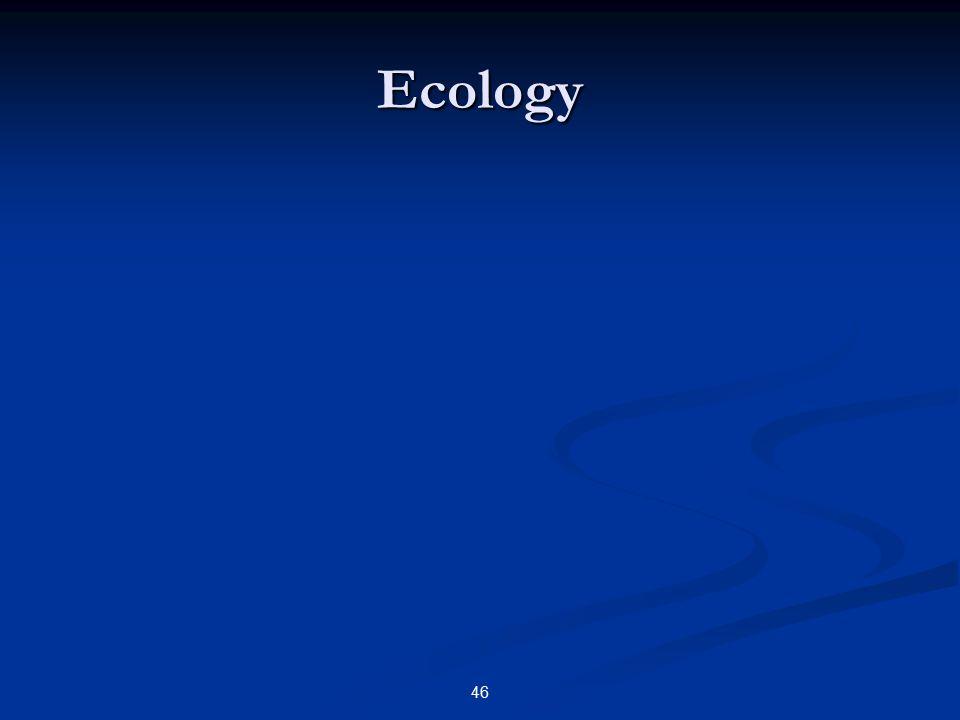 46 Ecology