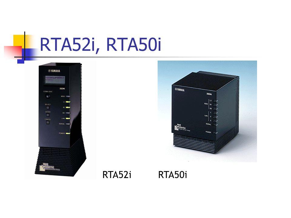 RTA50iRTA52i RTA52i, RTA50i