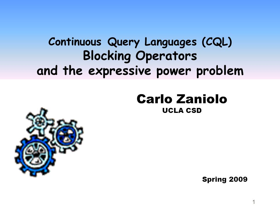 12 Expressive Power and NB-Completeness  Consider a (DB) language L.