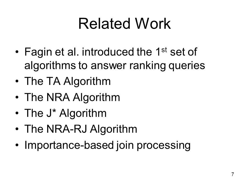 7 Related Work Fagin et al.