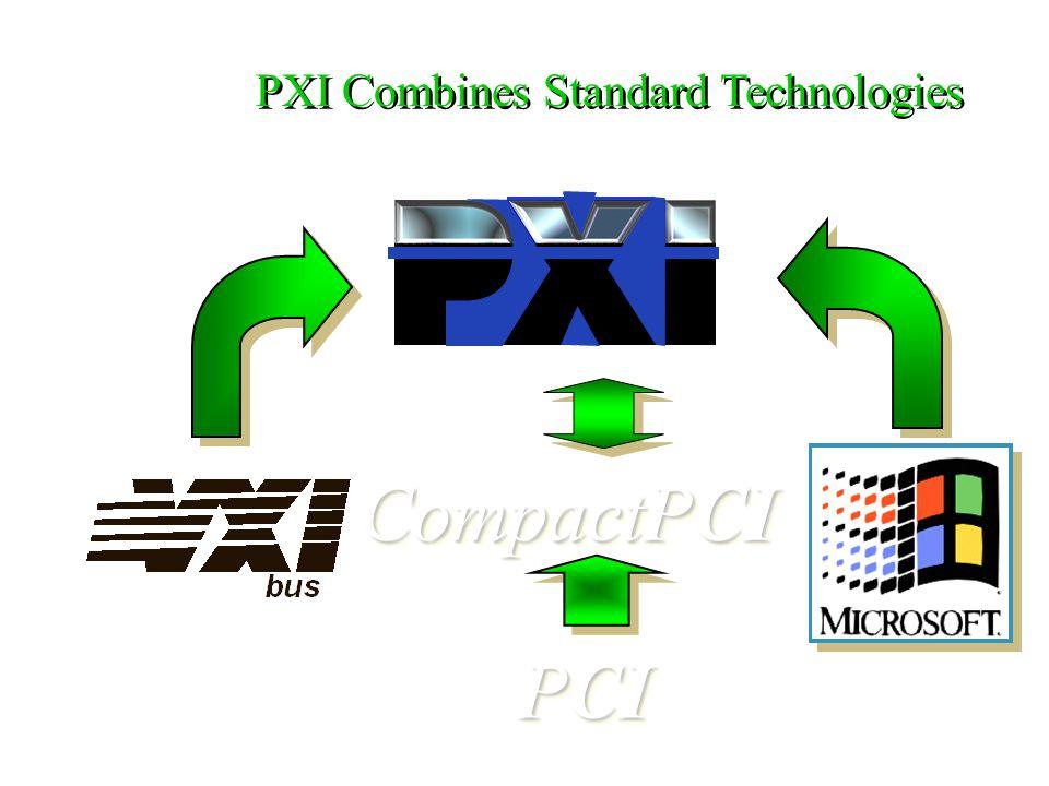 PXI Combines Standard Technologies CompactPCI PCI