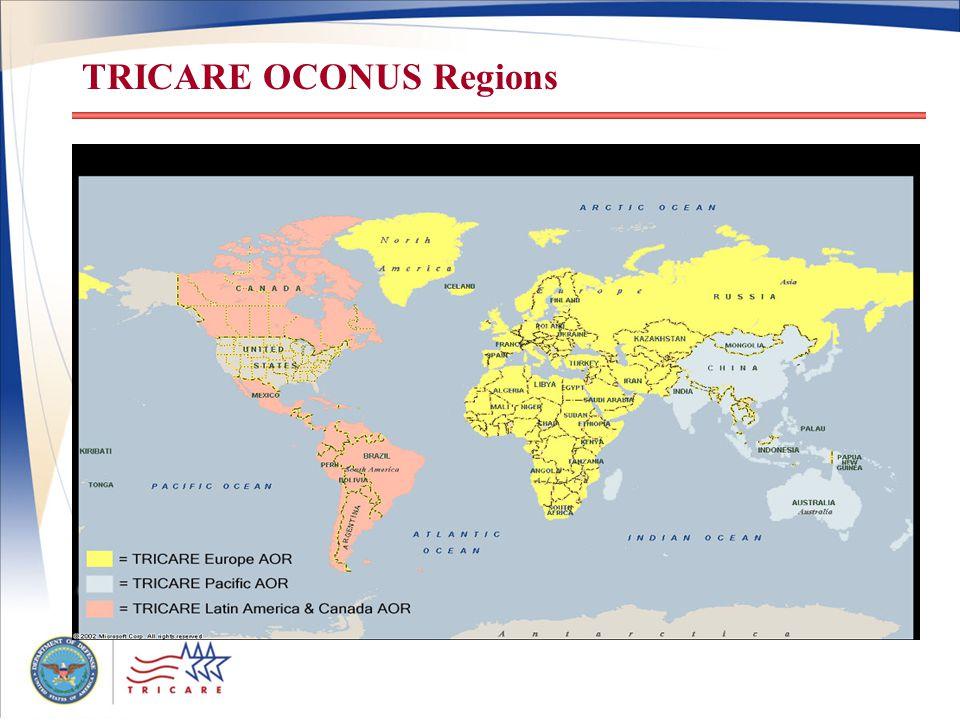 TRICARE OCONUS Regions