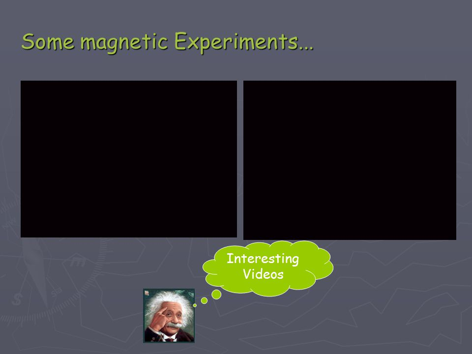 Some magnetic Experiments... Interesting Videos