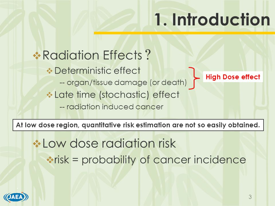 3 1. Introduction  Radiation Effects .