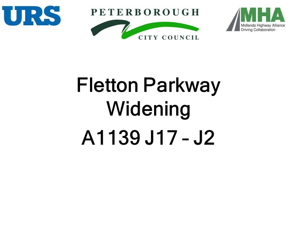 Fletton Parkway Widening A1139 J17 – J2