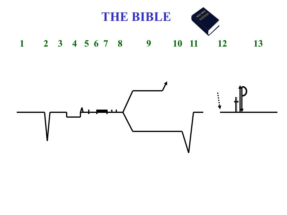 THE BIBLE 1 2 3 4 5 6 7 8 9 10 11 12 13