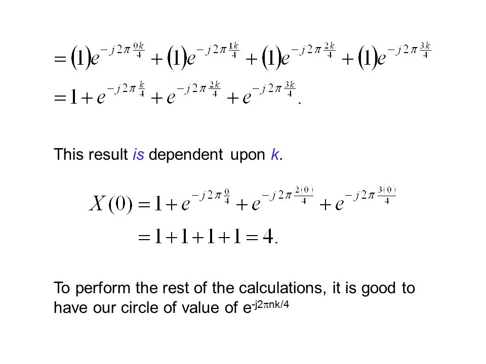 This result is dependent upon k.
