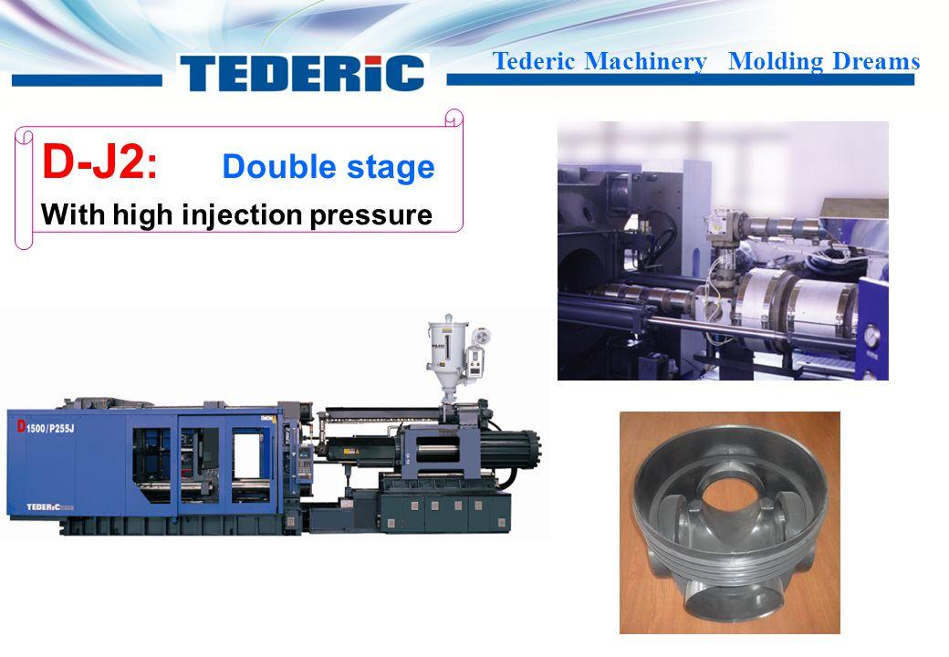 Tederic Machinery Molding Dreams D-D: Dual color D-C: Marble color D-DL series D-DH series Multi color D-C series D-D series