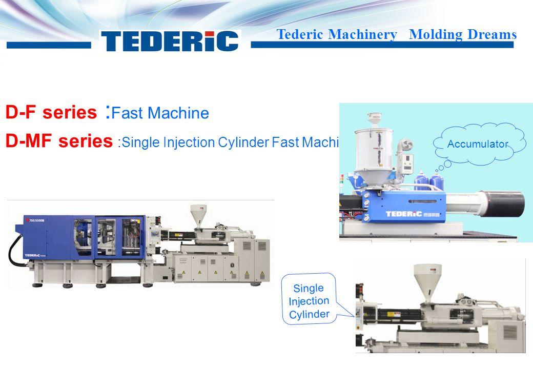 Tederic Machinery Molding Dreams D-PET : for PET material --------Professional PET screw and barrel