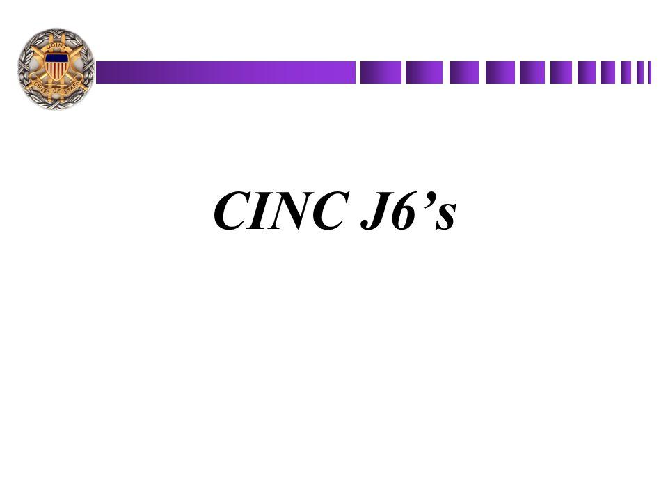 CINC J6's