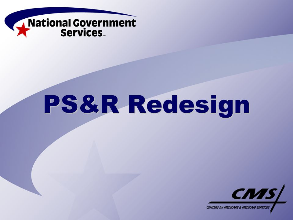 PS&R Redesign