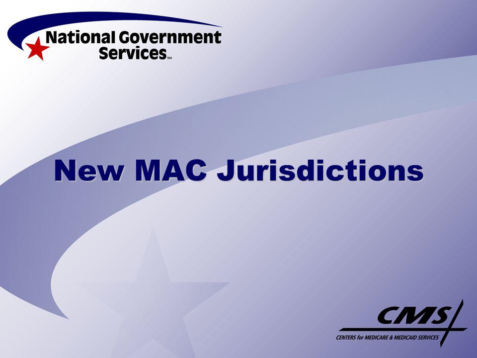New MAC Jurisdictions