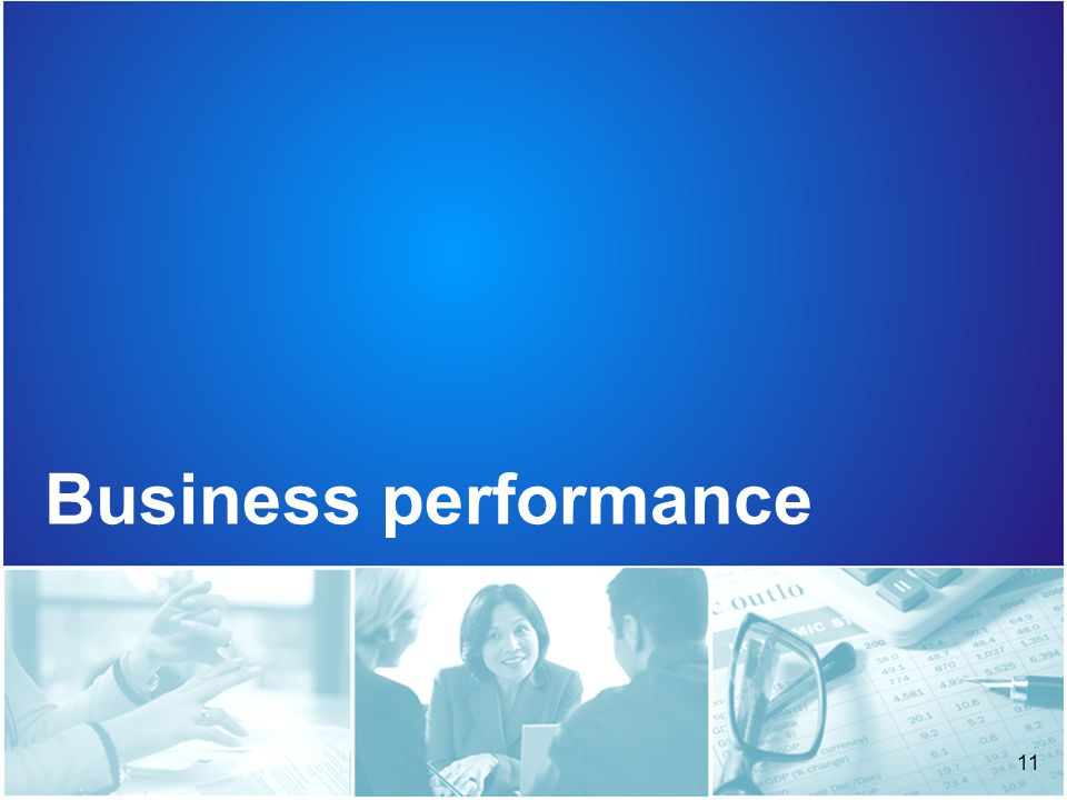 11 Business performance