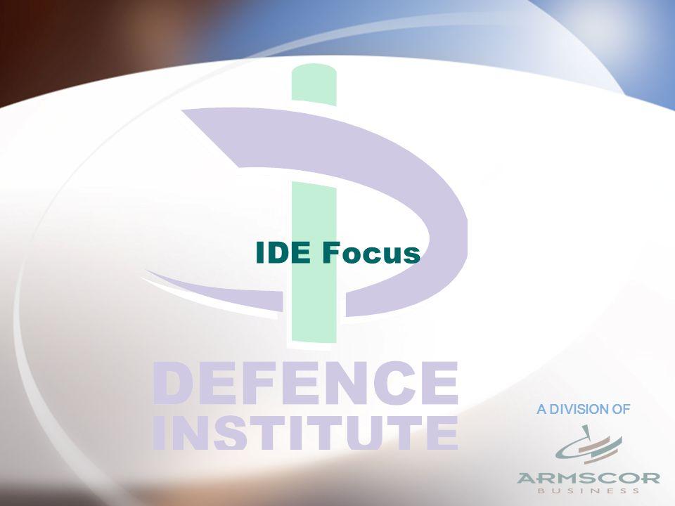 A DIVISION OF IDE Focus