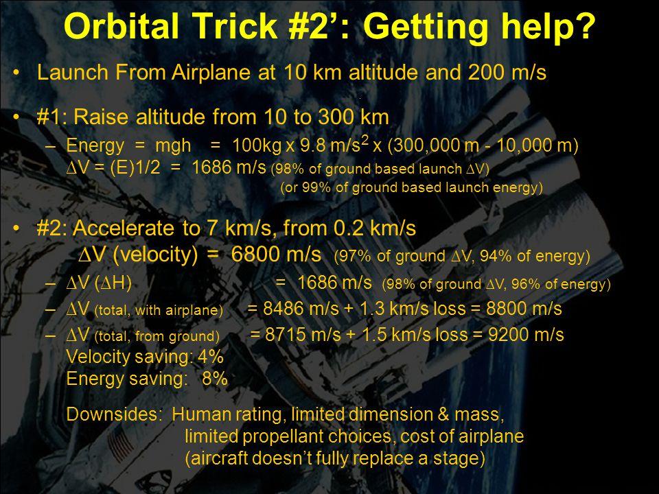 Engin 176 Meeting #5 Meeting #5 Page 17 Orbital Trick #2': Getting help.