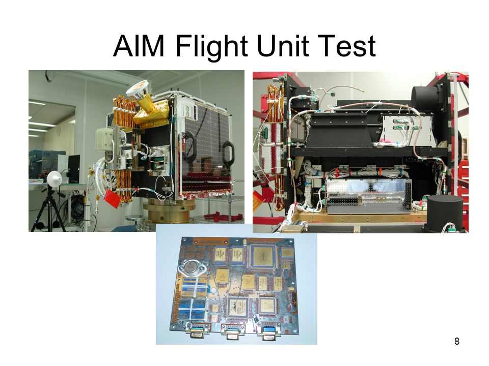 8 AIM Flight Unit Test